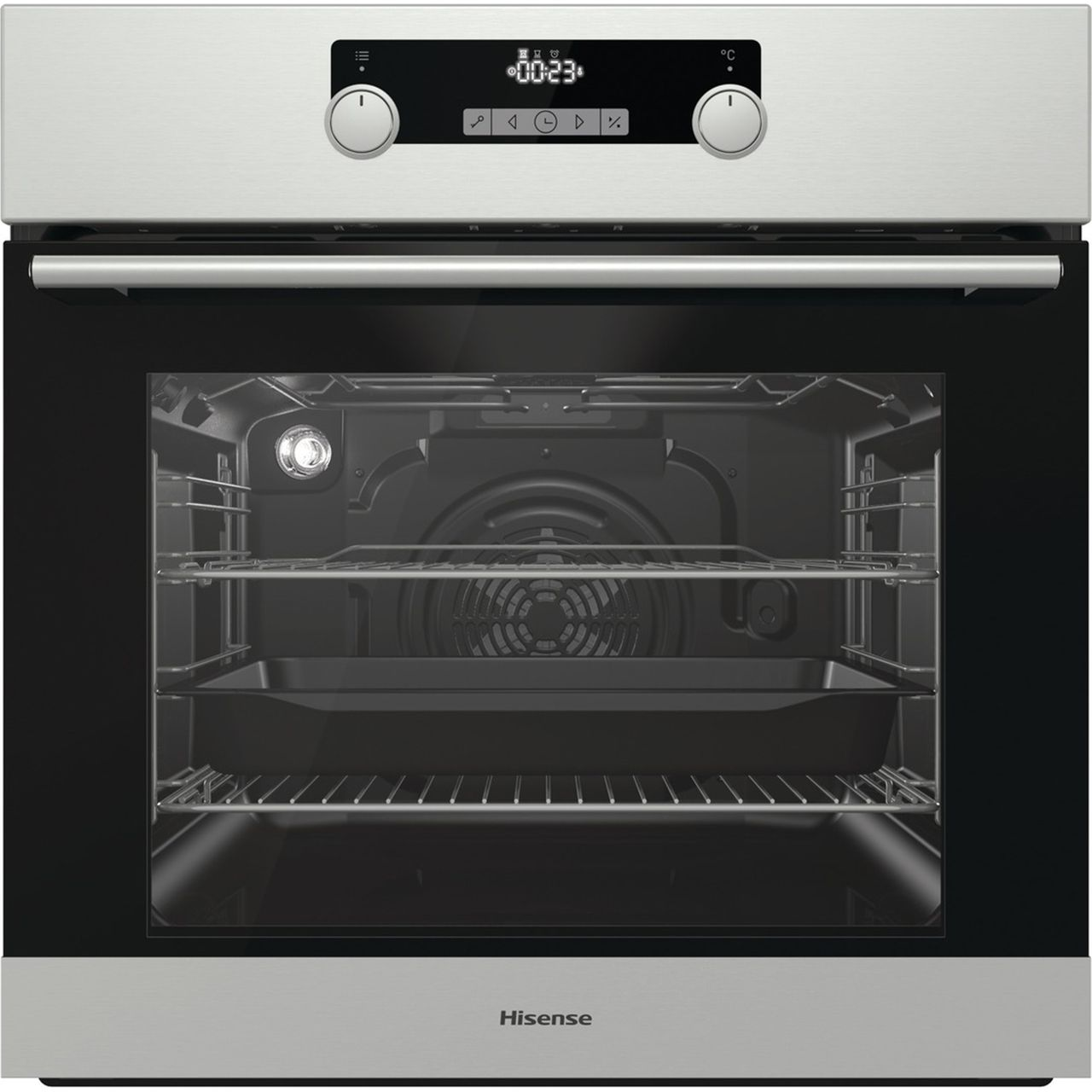 Hisense Electric Single Oven - Stainless Steel - A Rated