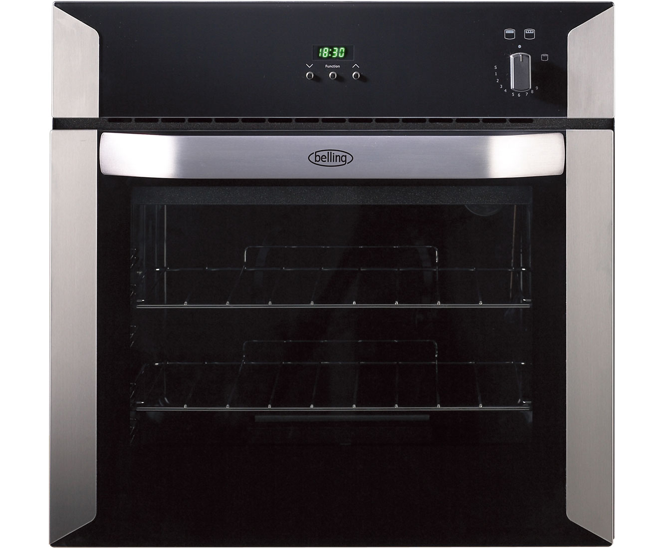 Belling BI60G Built In Gas Single Oven - Stainless Steel