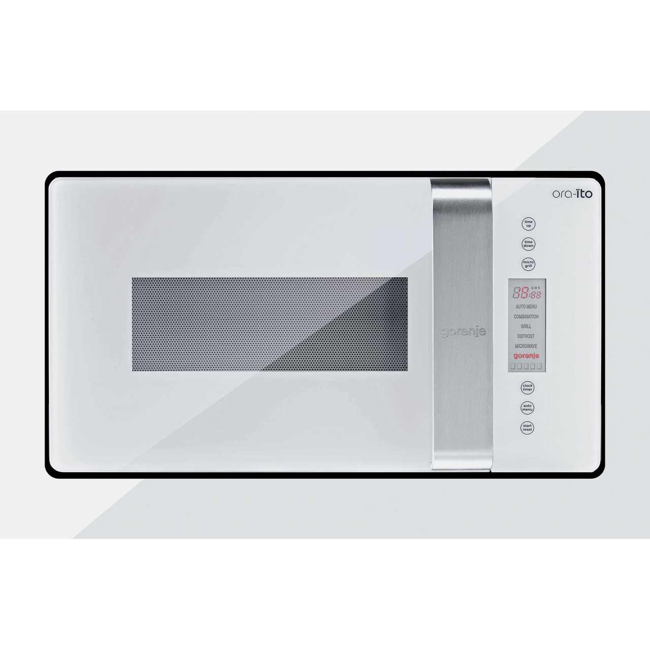 Gorenje OraÏto BM6250ORAWUK Integrated Microwave Oven in White