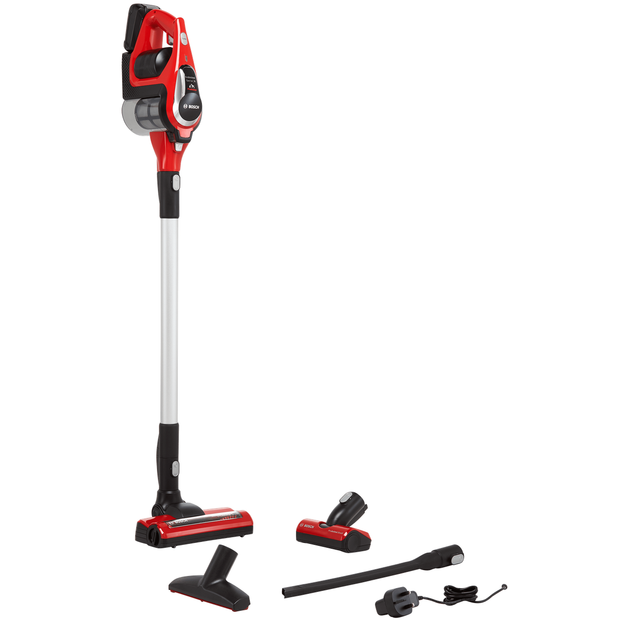Bosch Serie 8 Unlimited ProAnimal BBS81PETGB Cordless Vacuum Cleaner with Pet Hair Removal and up to 40 Minutes Run Time