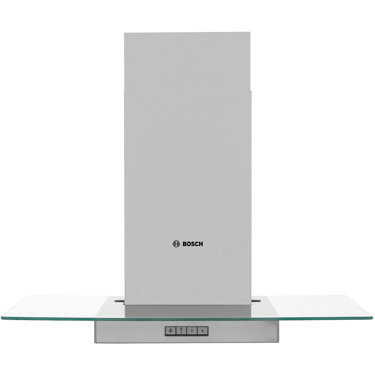 Image of Bosch Serie 4 DWA074W50B Integrated Cooker Hood in Brushed Steel