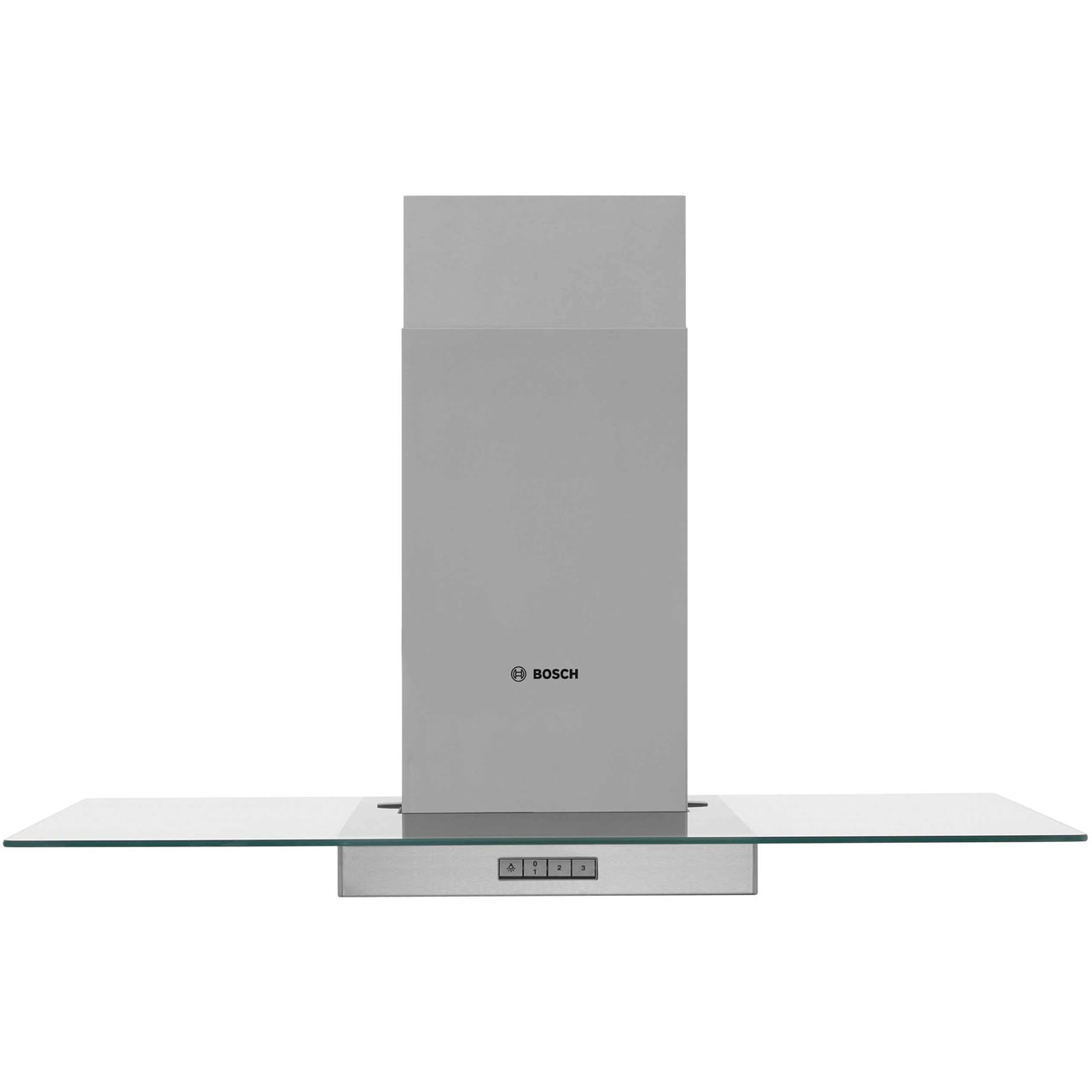 Image of Bosch Serie 4 DWA094W50B Integrated Cooker Hood in Brushed Steel