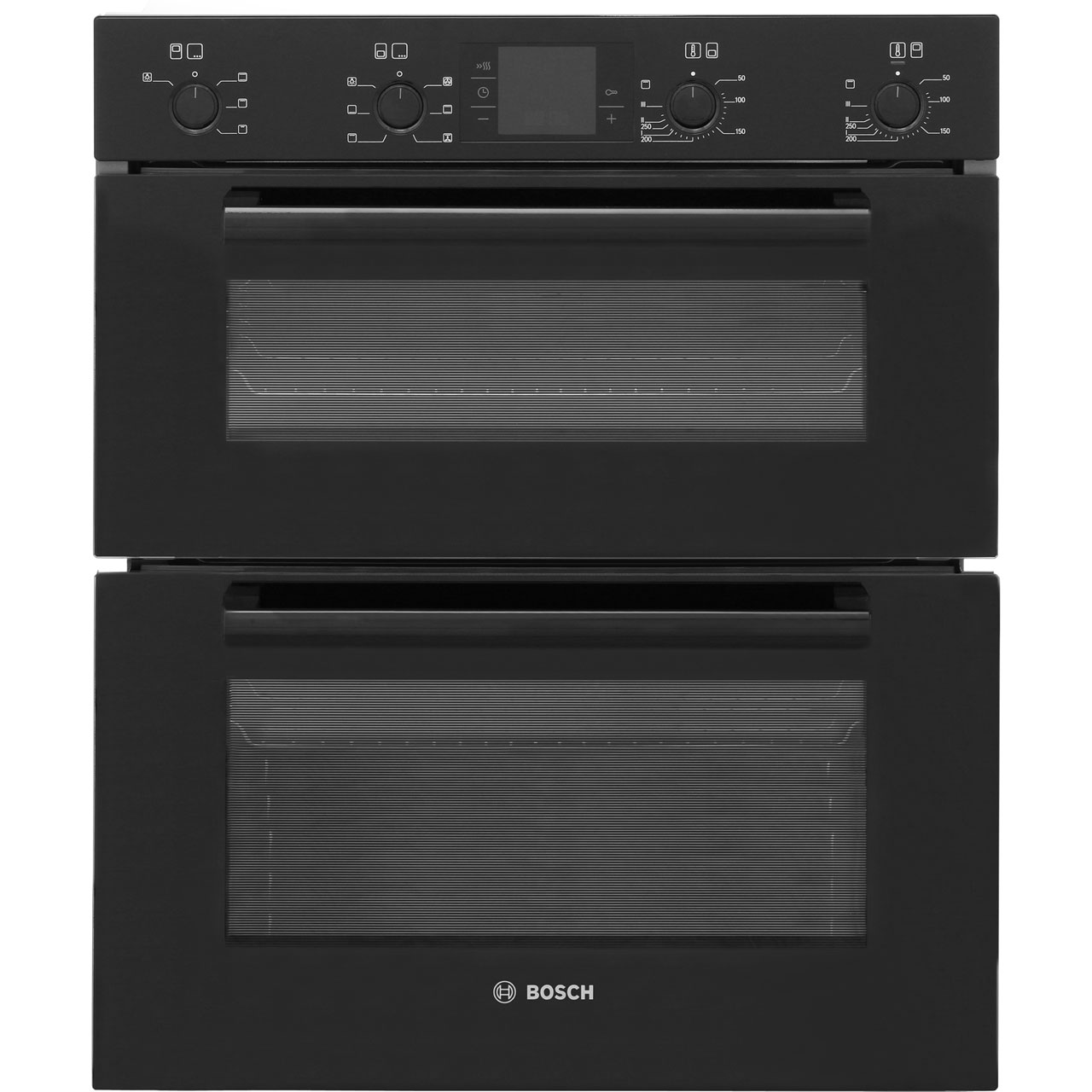 Bosch built under double oven black