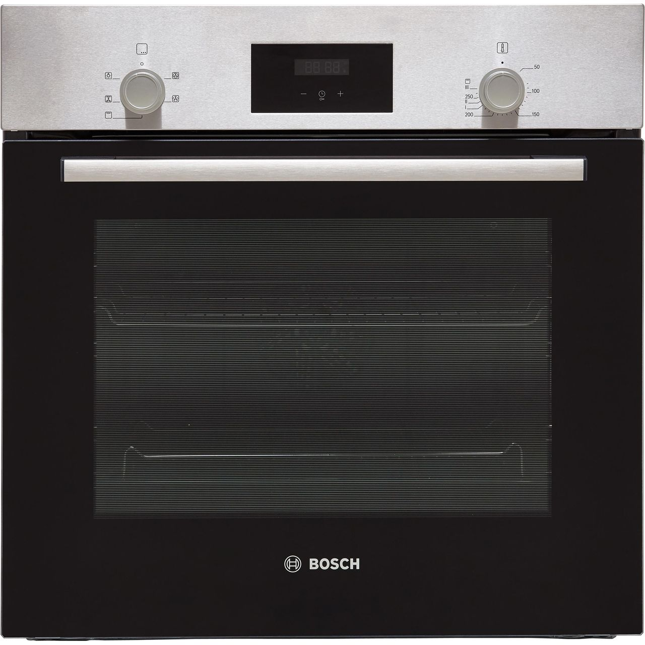 Bosch Serie 2 Electric Single Oven - Stainless Steel - A Rated