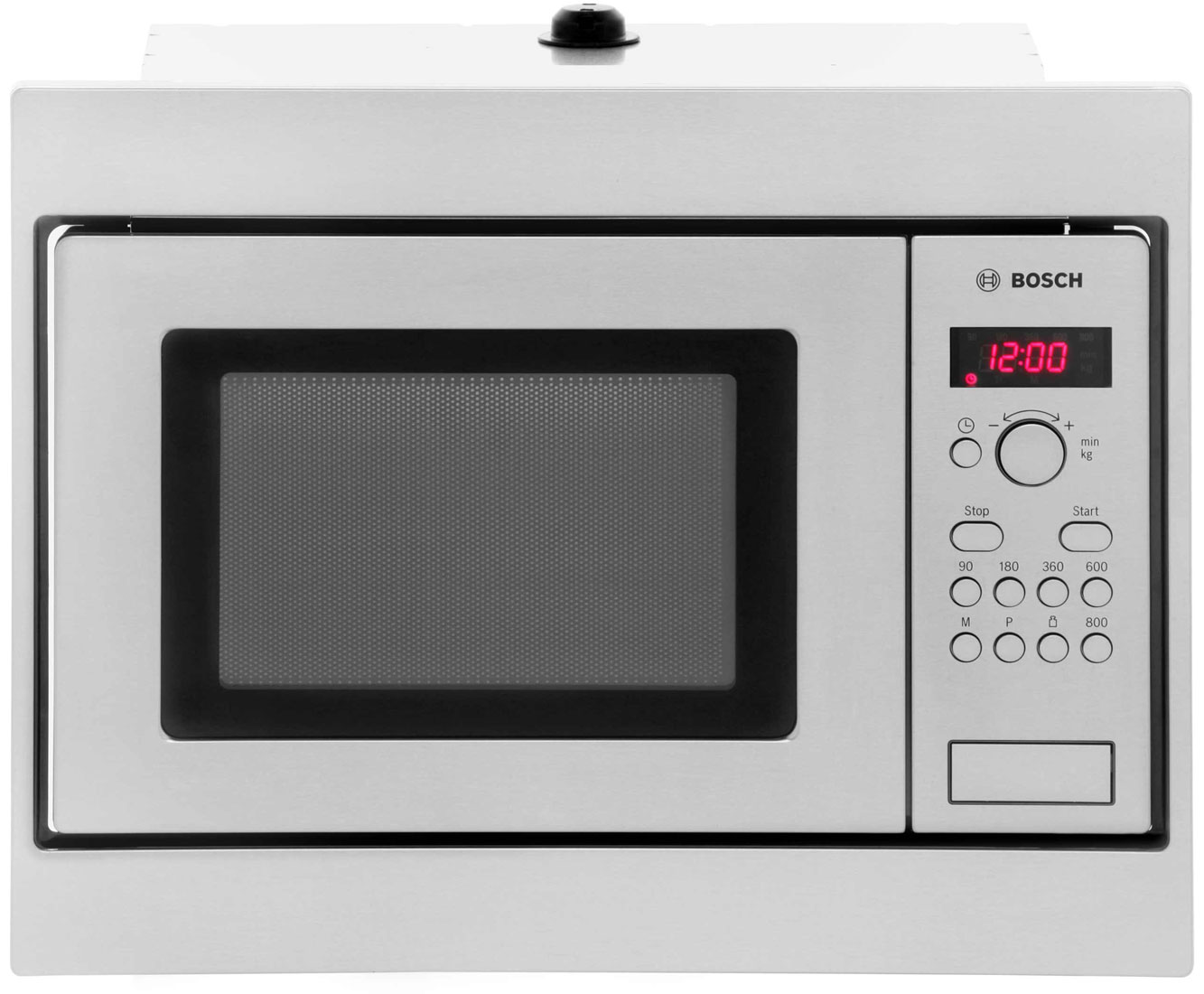 Bosch Serie 4 HMT75M551B Integrated Microwave Oven in Brushed Steel