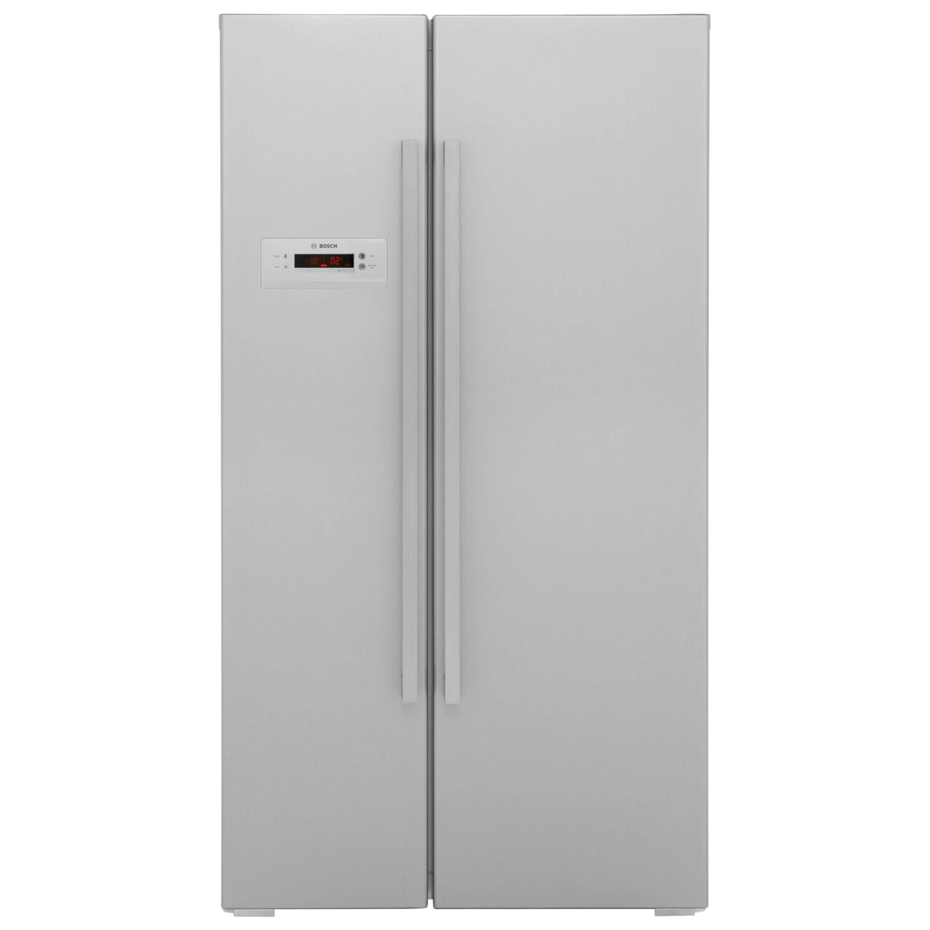 Bosch Serie 4 KAN62V41GB American Fridge Freezer - Stainless Steel Look