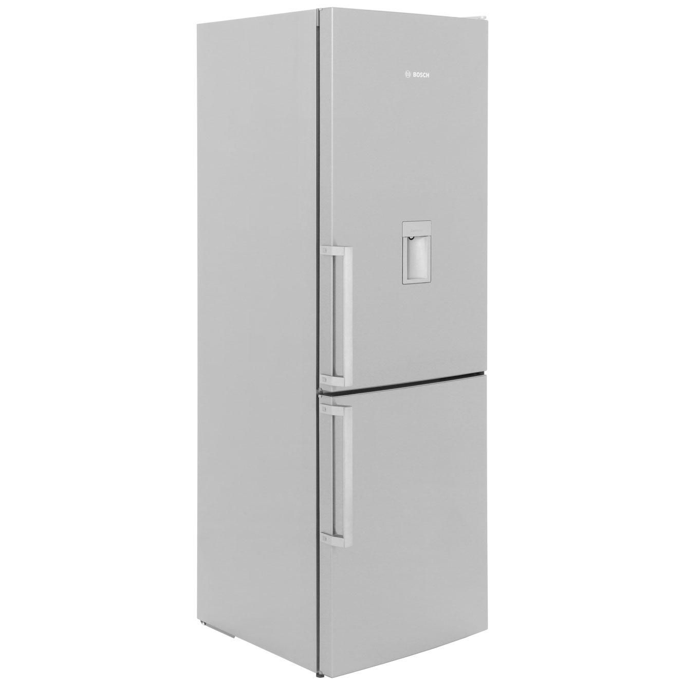 Bosch Serie 8 KGD36VI30G Free Standing Fridge Freezer Frost Free in Stainless Steel Look