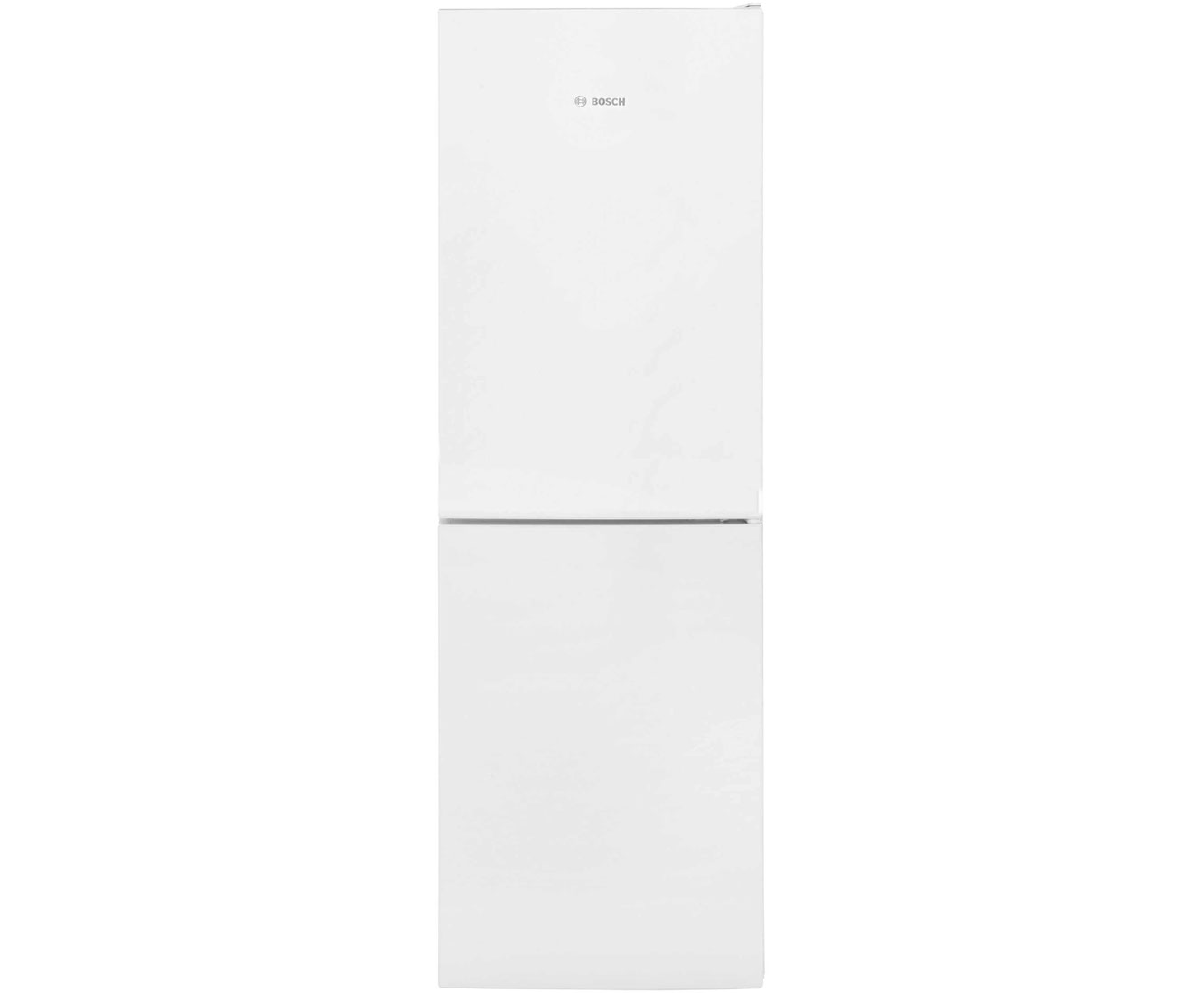 Bosch Serie 4 KGN34VW30G Free Standing Fridge Freezer Frost Free in White