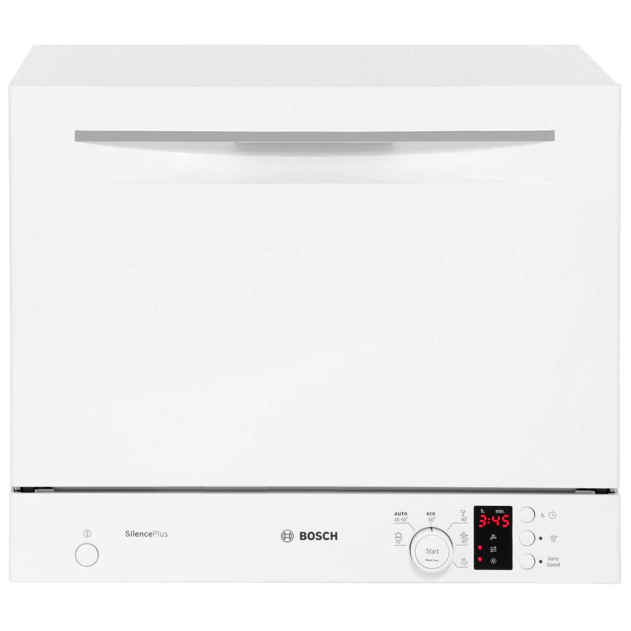 Bosch Serie 4 SKS62E22EU Free Standing Table Top Dishwasher in White