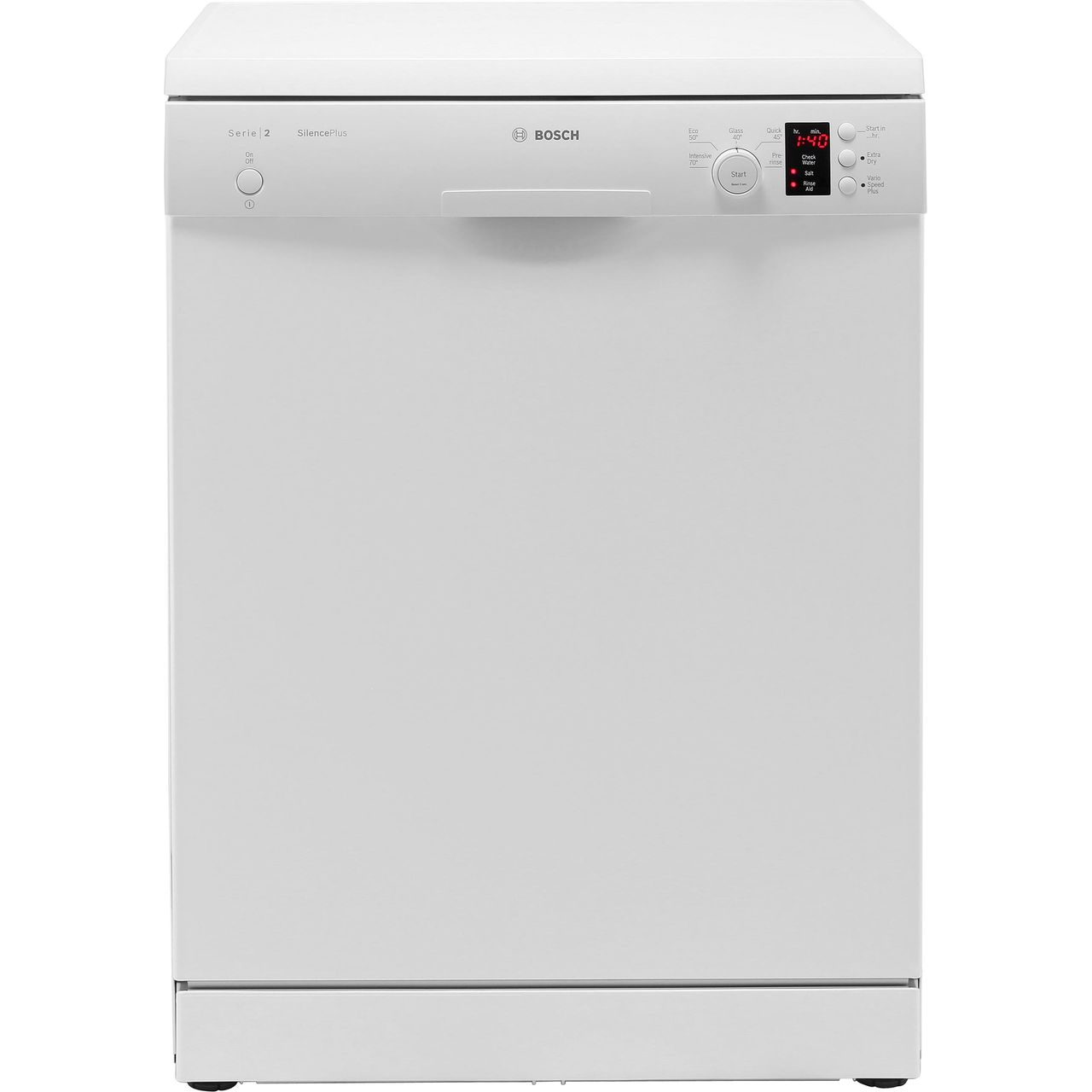 économiser 21028 12cfc Bosch Serie 2 SMS25AW00G Standard Dishwasher - White - A++ Rated
