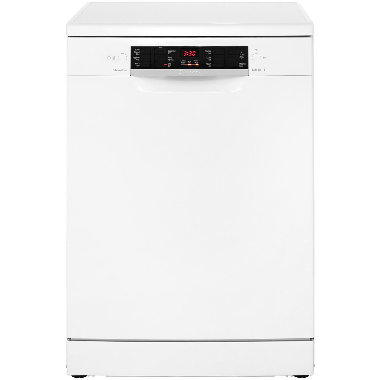 SMS46MW01G_WH | Bosch freestanding dishwasher | ao.com