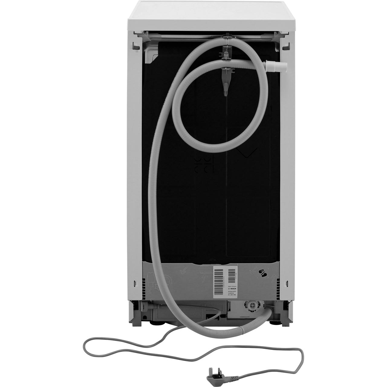 Bosch Serie 2 Sps24cw00g Slimline Dishwasher White