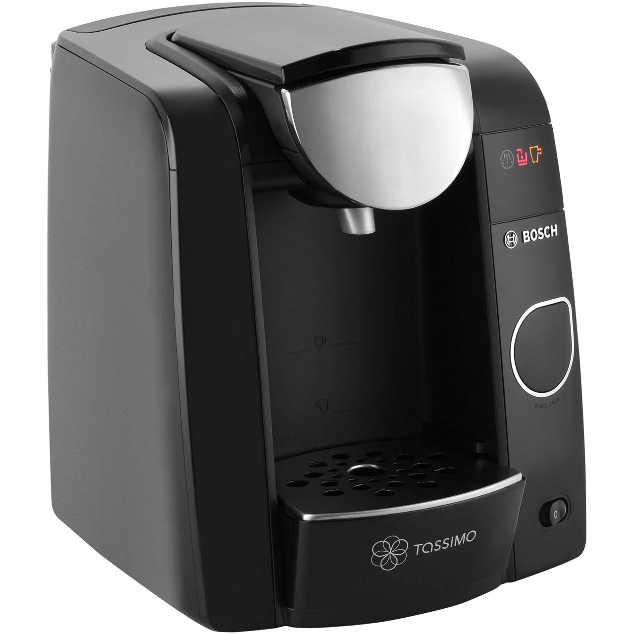 bosch tassimo joy tas4502gb pod coffee machine black. Black Bedroom Furniture Sets. Home Design Ideas