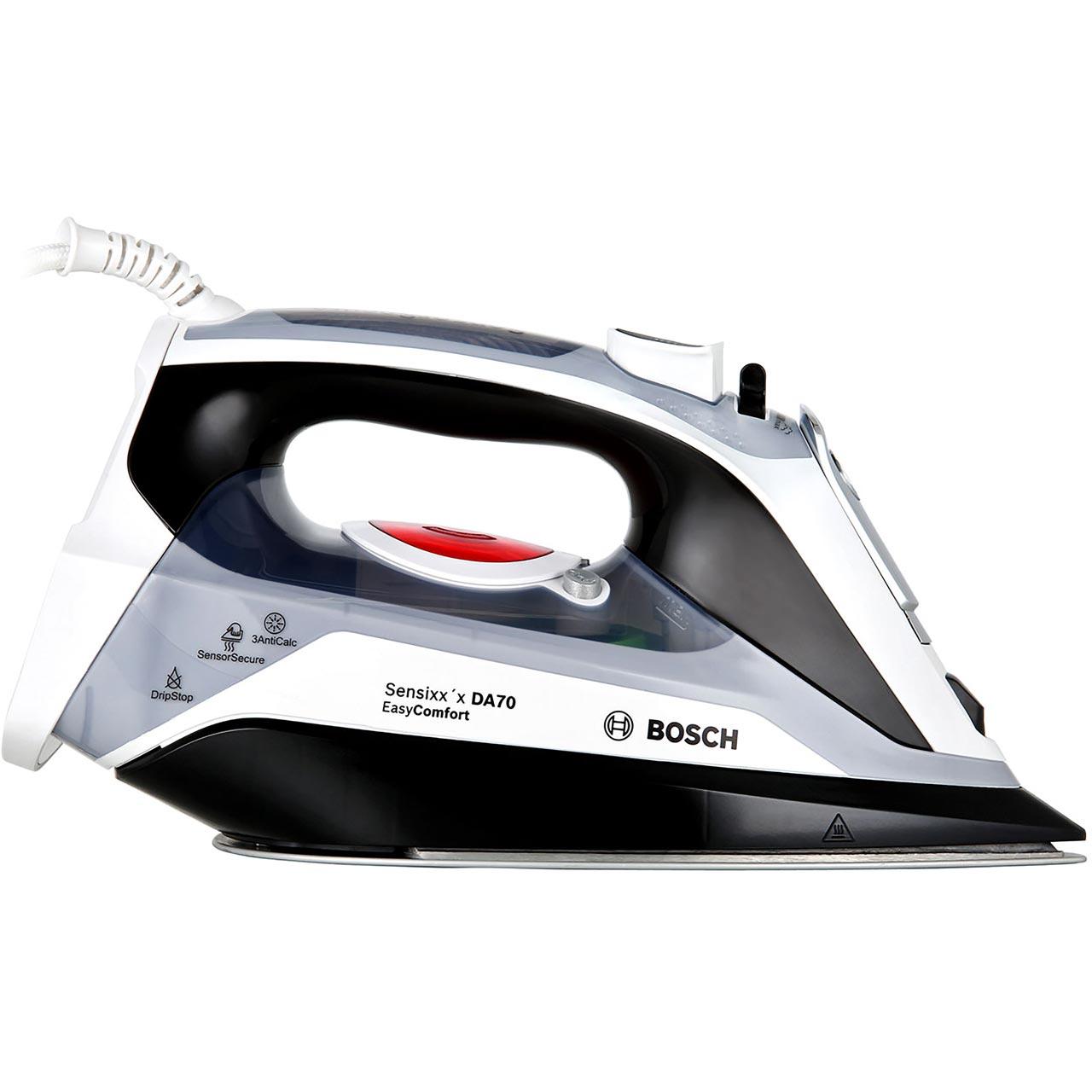 ... Bosch TDA70EYGB 2400 Watt Iron -White   Black - TDA70EYGB WH - 1 ... 52a37716f70