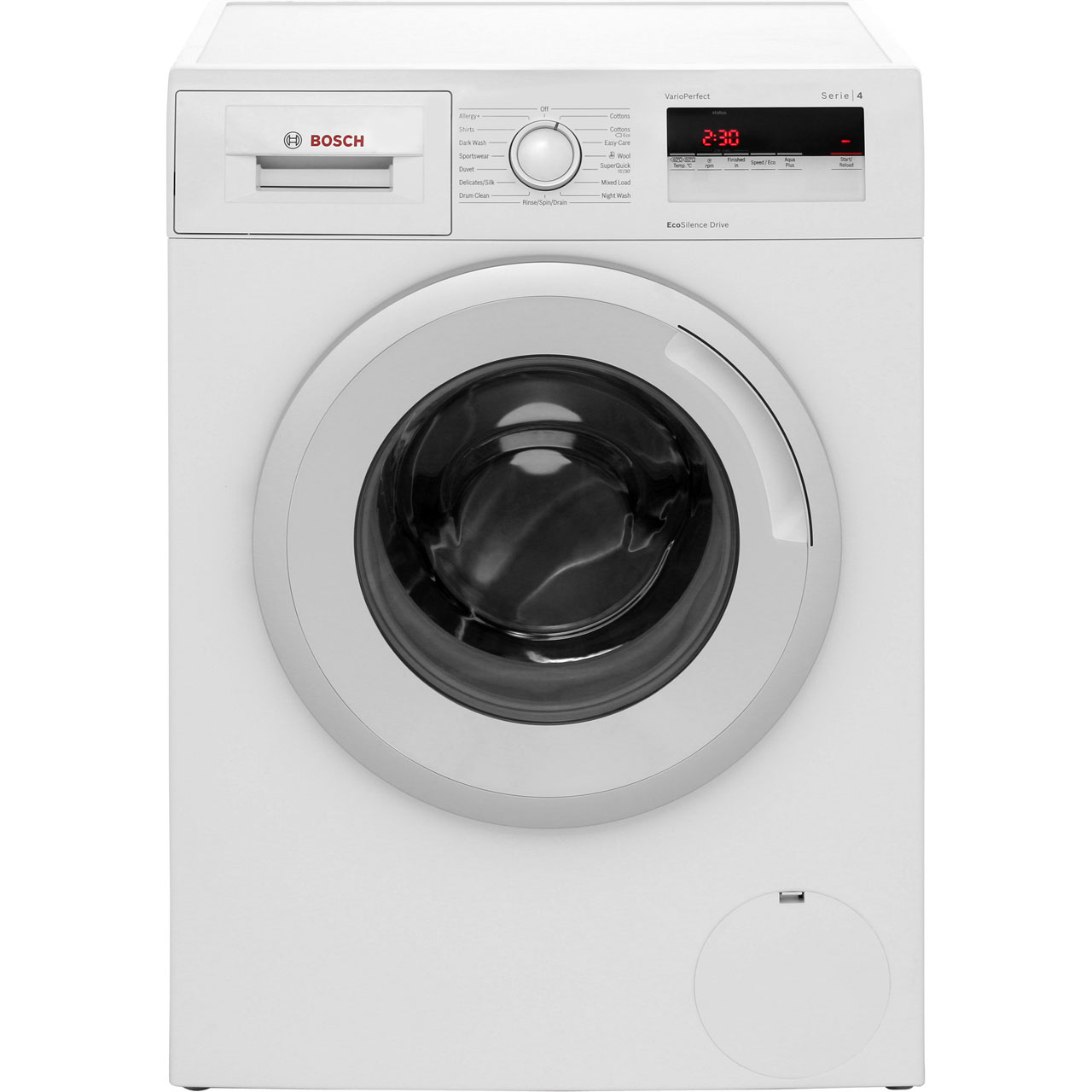 bosch wan24100gb serie 4 a 7kg 1200 rpm washing machine white new 748354456783 ebay. Black Bedroom Furniture Sets. Home Design Ideas