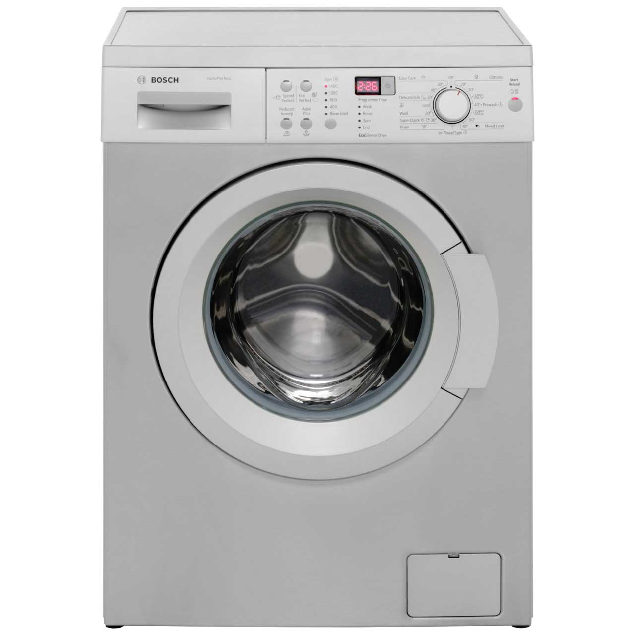 bosch silver washing machine shop for cheap products and save online. Black Bedroom Furniture Sets. Home Design Ideas