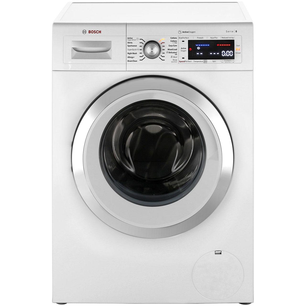 Bosch Serie 8 Waw28750gb 9kg Washing Machine With 1400 Rpm White