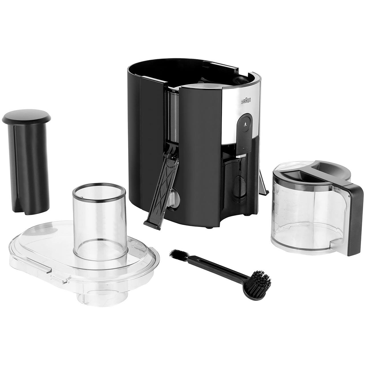 Braun Multiquick J500 Centrifugal Juicer Black