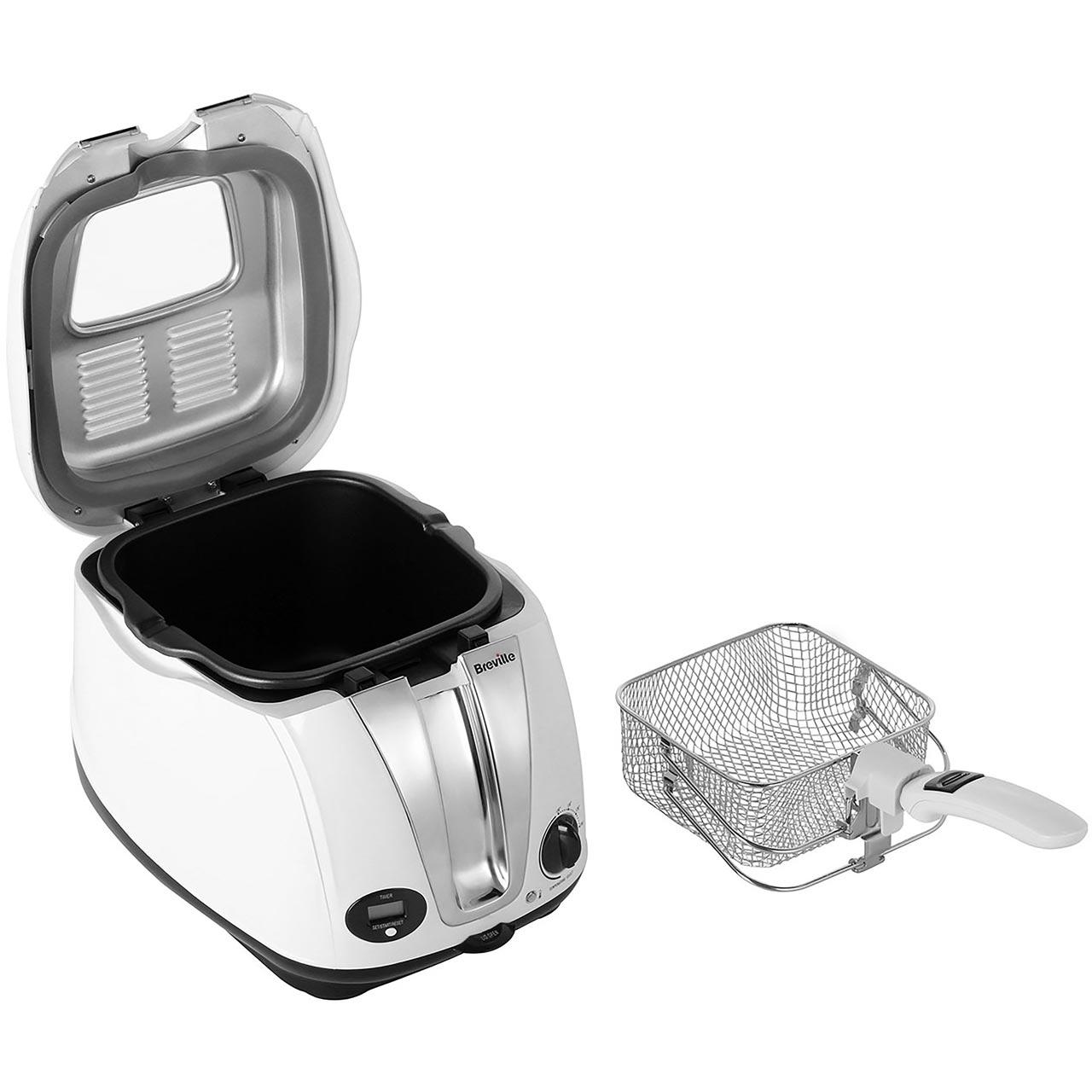 Breville Vdf108 Easy Clean Digital Fryer Deep Fat Fryer