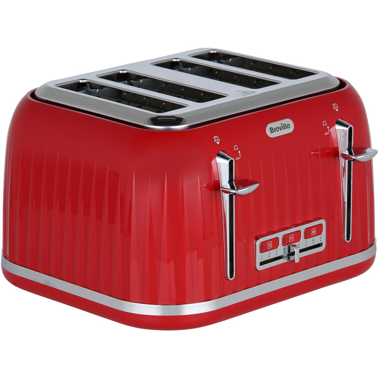 797c0b75cbe1 ... Breville Impressions VTT783 4 Slice Toaster - Red - VTT783_RD - 1 ...