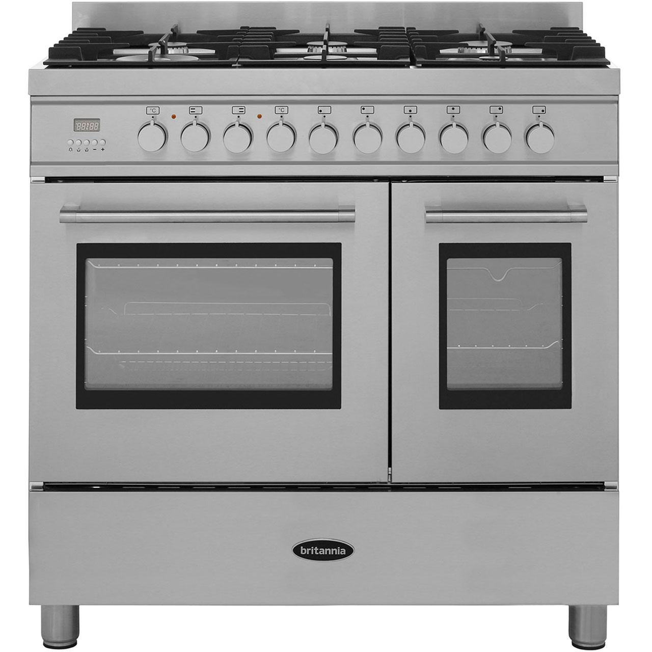 B And Q Kitchen Appliances Britannia Q Line Rc 9tg Ql S 90cm Dual Fuel Range Cooker