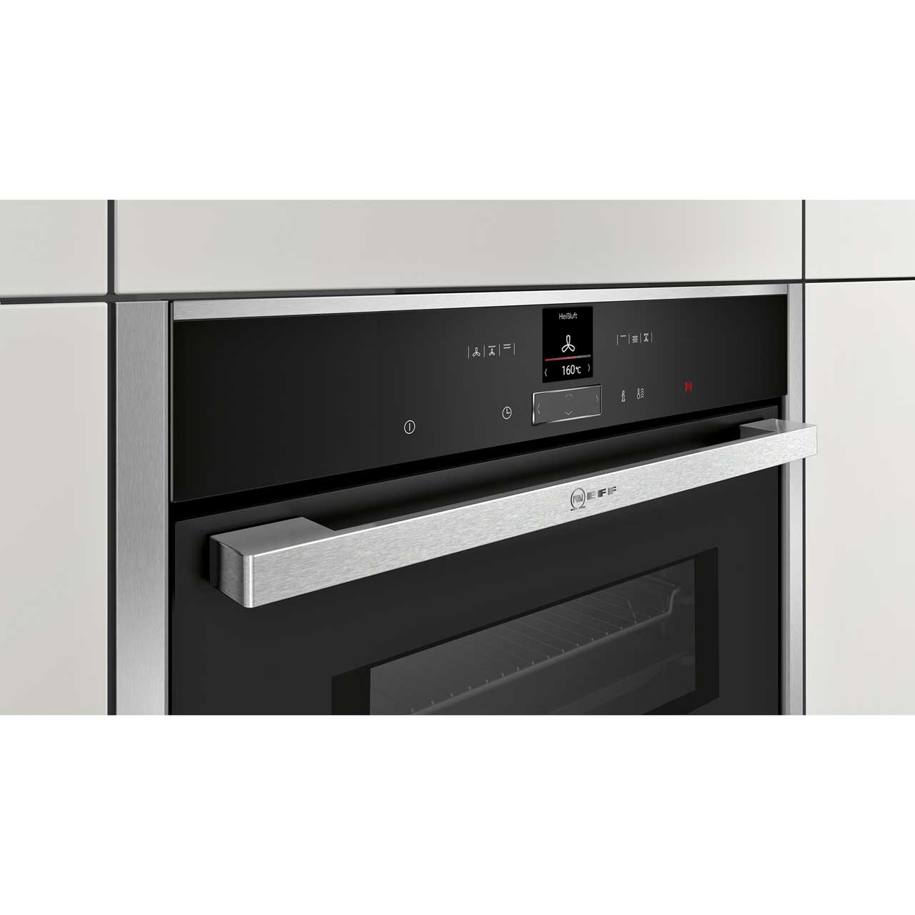 Neff C17mr02n0b N70 Built In 60cm Electric Single Oven