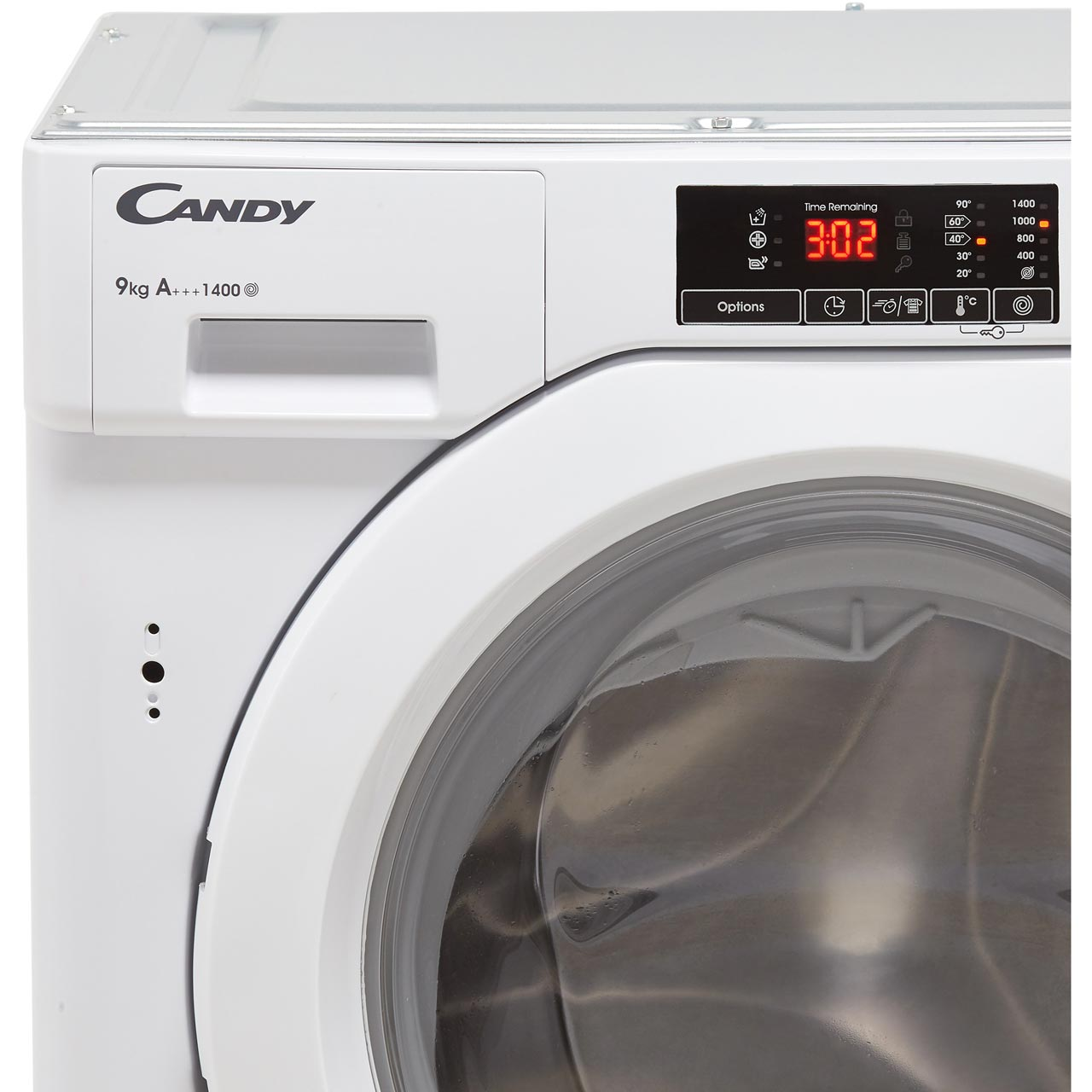 Candy Cbwm914d A    Rated 9kg 1400 Rpm Washing Machine