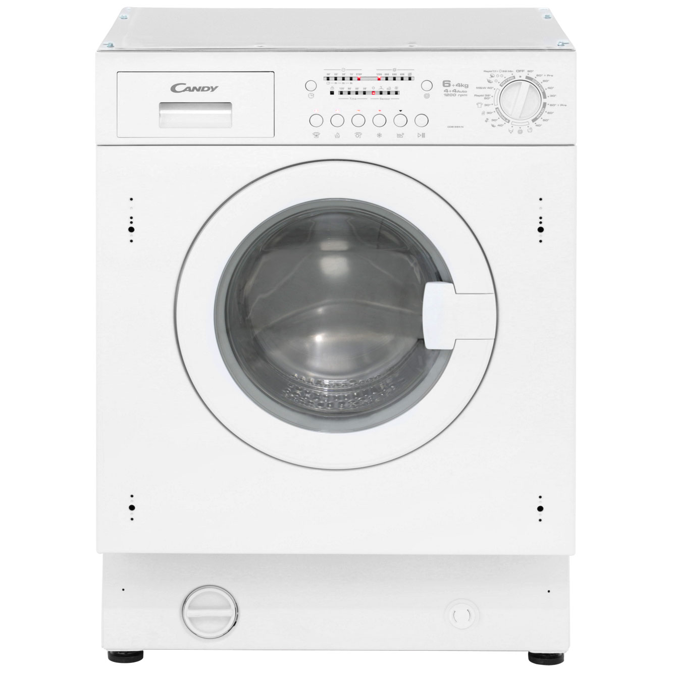 Candy CDB264N Integrated 6Kg / 4Kg Washer Dryer with 1200 rpm