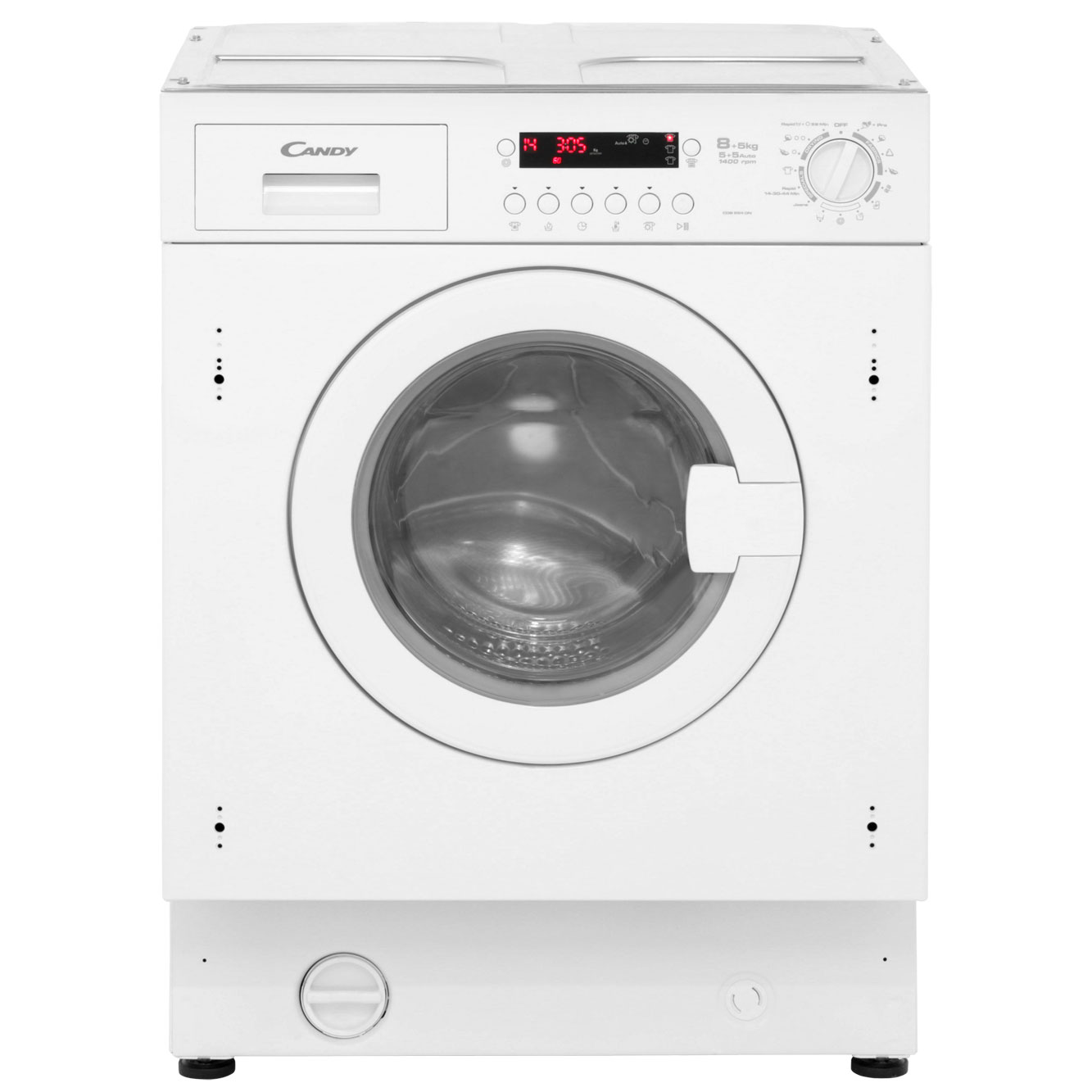 Candy CDB854DN Integrated 8Kg / 5Kg Washer Dryer with 1400 rpm