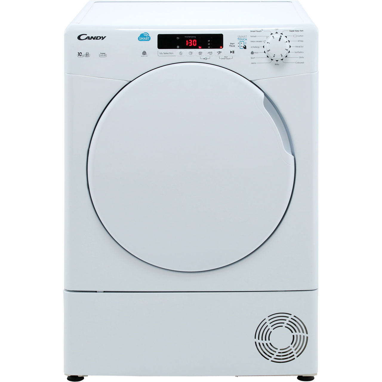 Candy Smart 10Kg Condenser Tumble Dryer - White - B Rated