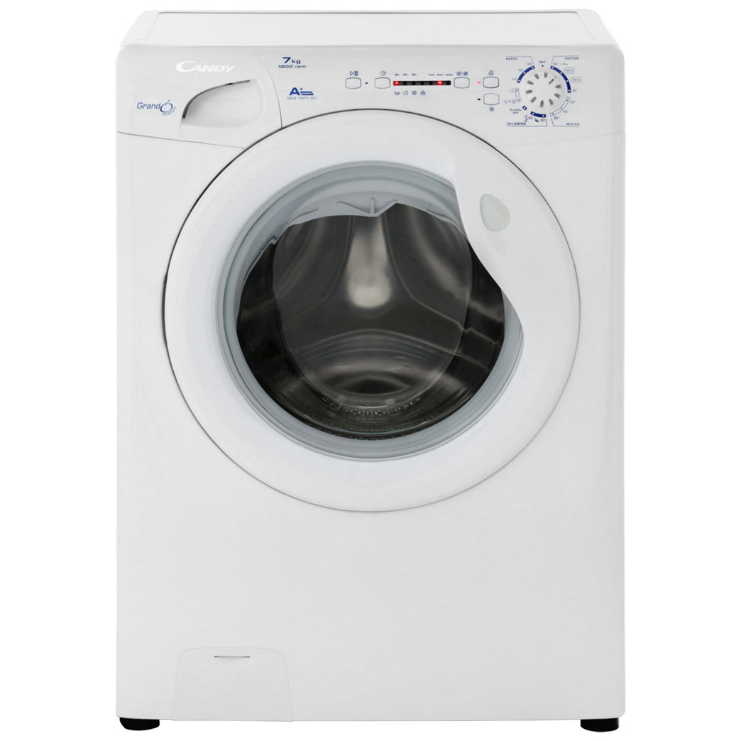 Candy Grand'O GC41271D1/1 7Kg Washing Machine with 1200 rpm - White