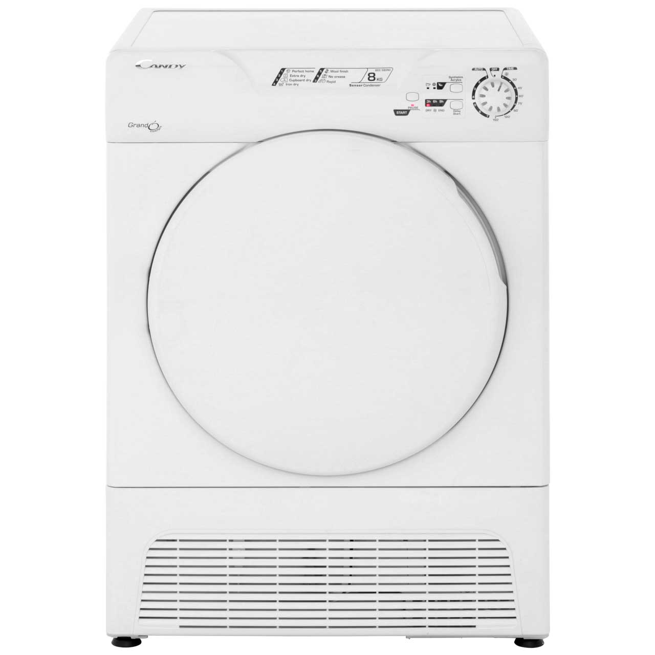 Candy GCC580NC Condenser Tumble Dryer - White