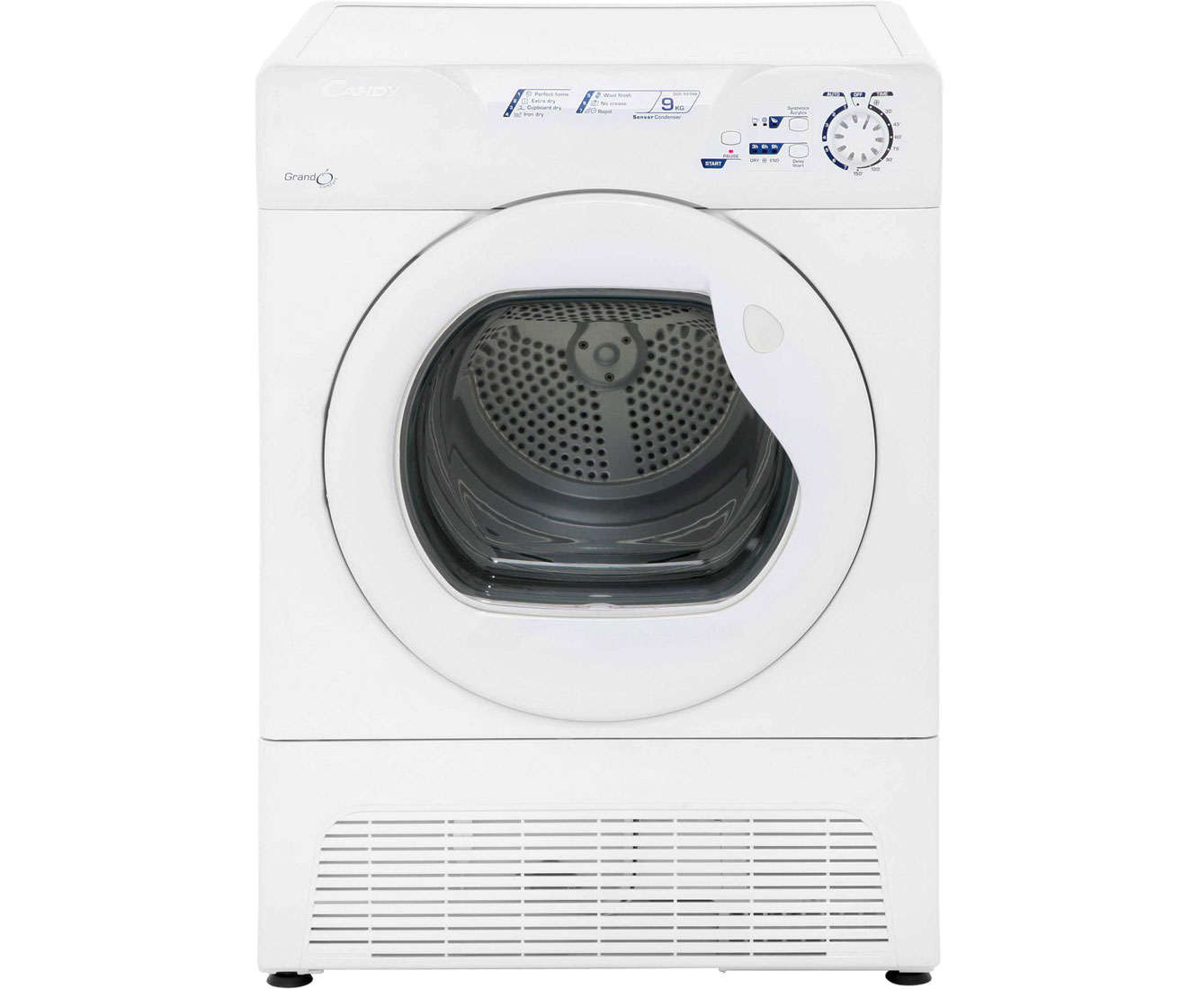 Candy Grand'O GCC591NB Condenser Tumble Dryer - White