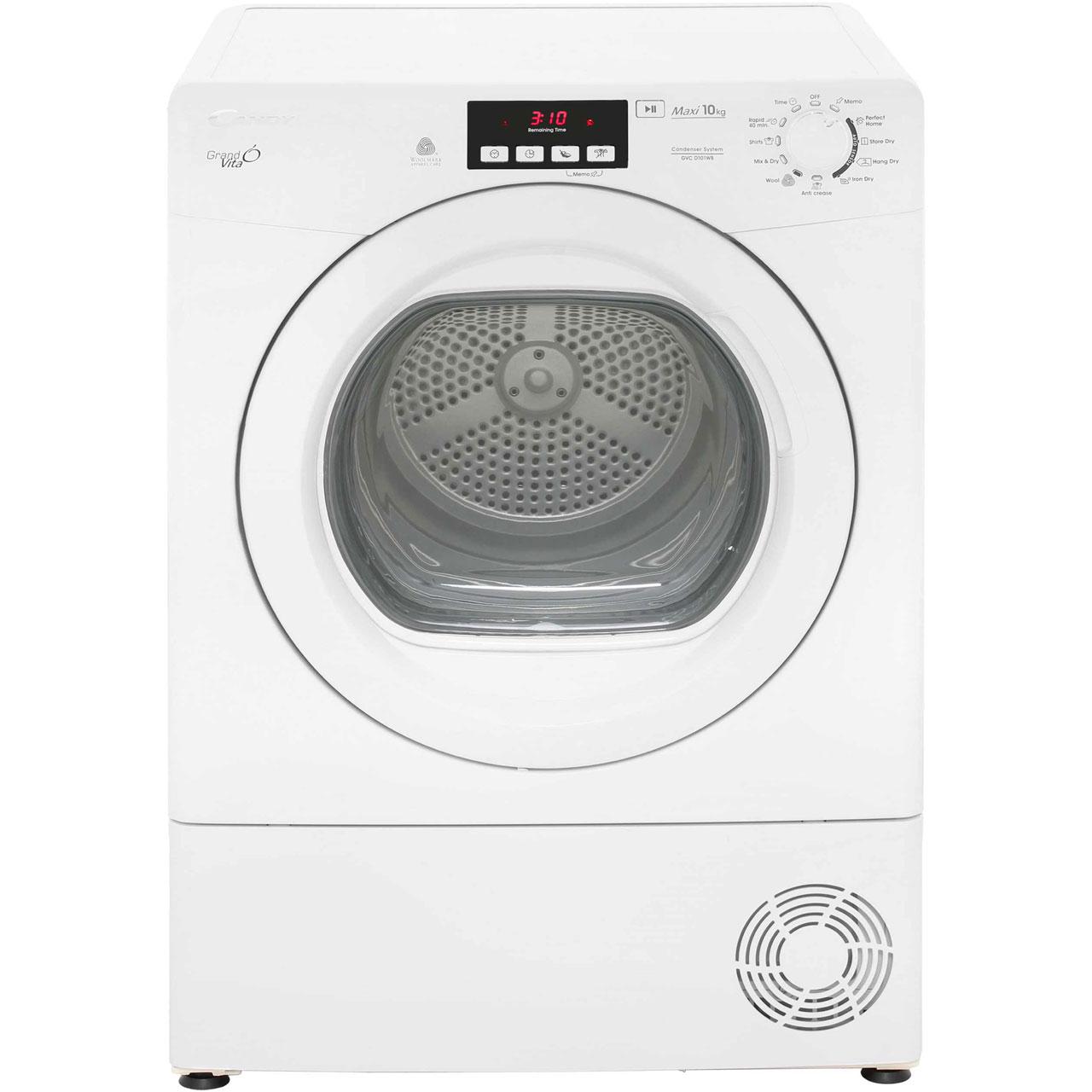 Person Tumble Dryer ~ Candy gvcd wb condenser tumble dryer white ebay