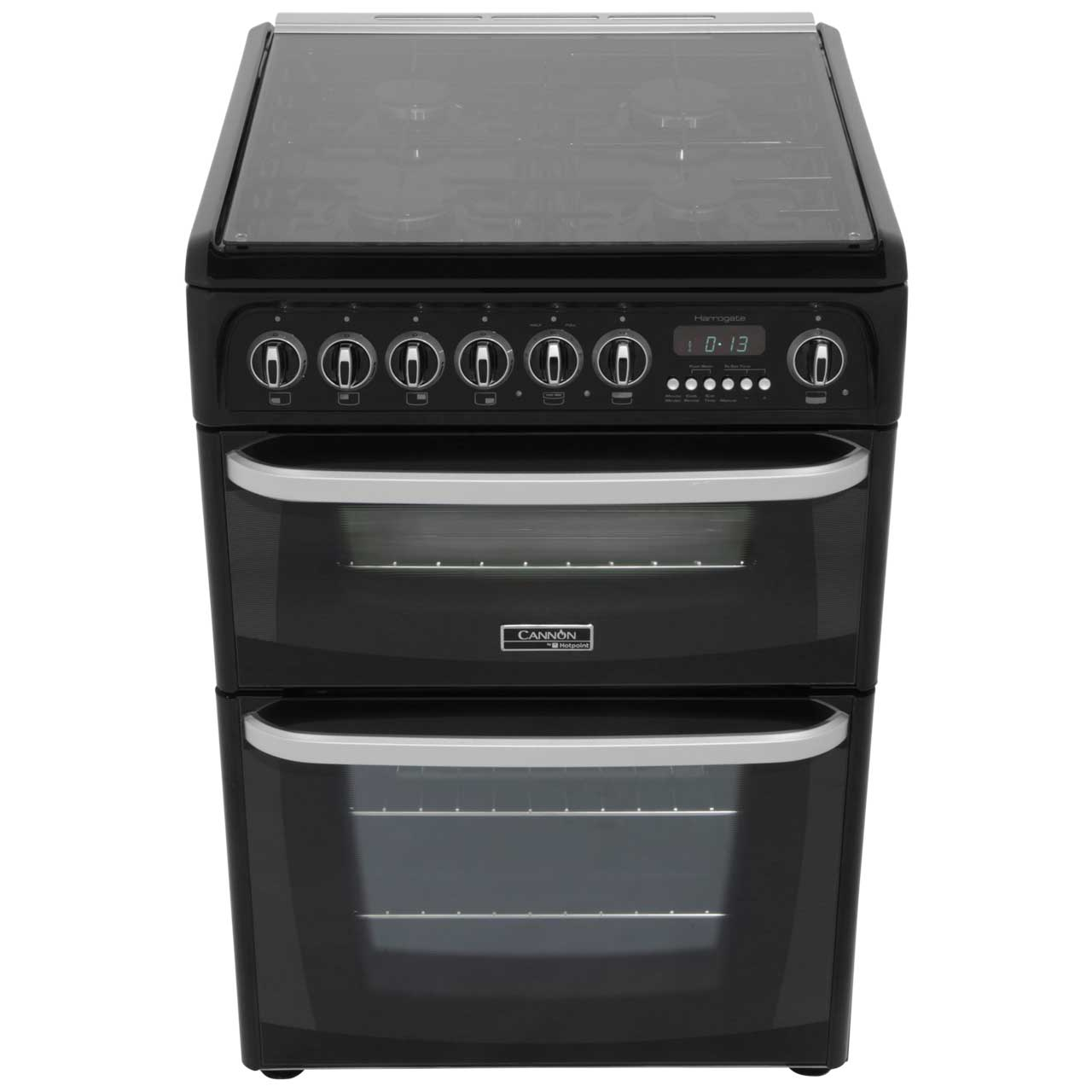 ch60dhwfs wh cannon dual fuel cooker white ao com rh ao com KitchenAid Dual Fuel Double Oven Dual Fuel Grills
