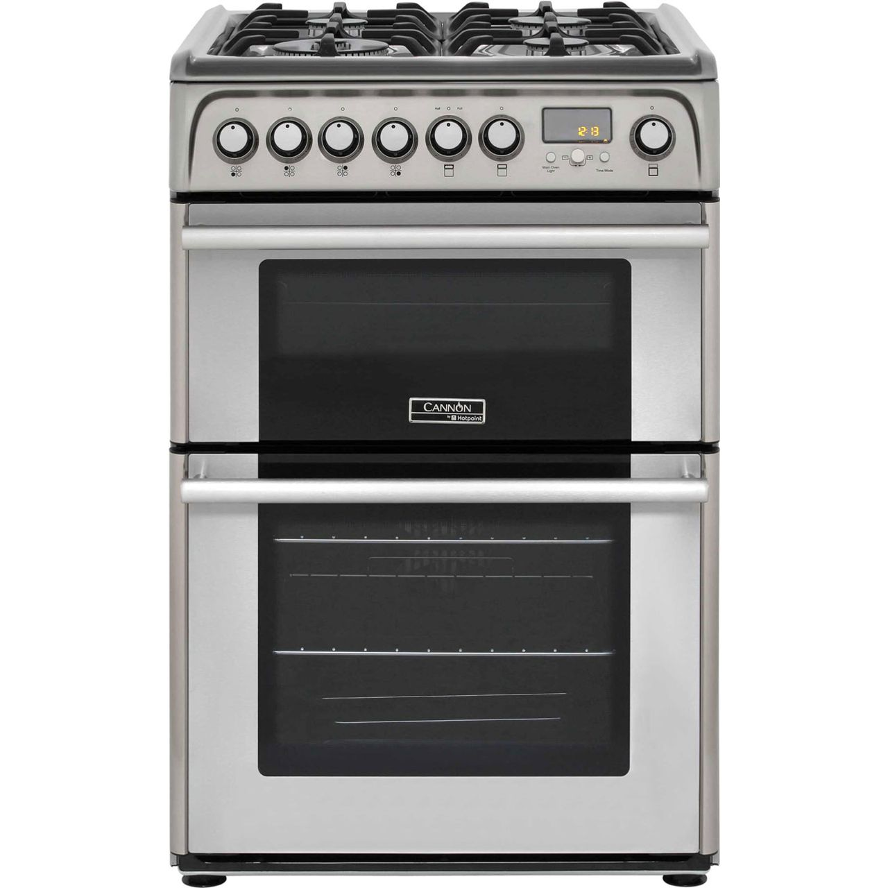 Cannon by Hotpoint CH60DPXFS Free Standing Cooker in Stainless Steel