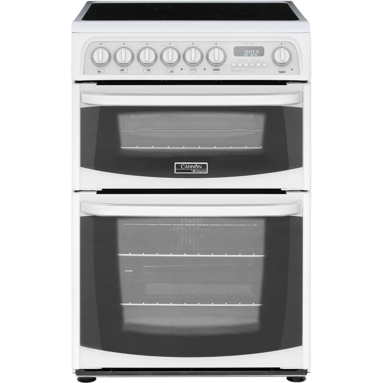 Cannon by Hotpoint Kendal CH60EKWS Free Standing Cooker in White