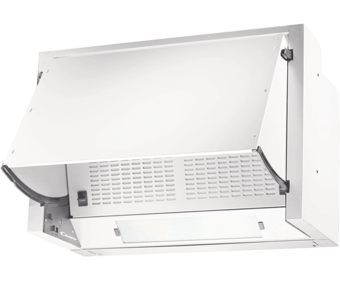 Candy CBP612/1W 60cm Integrated Cooker Hood White