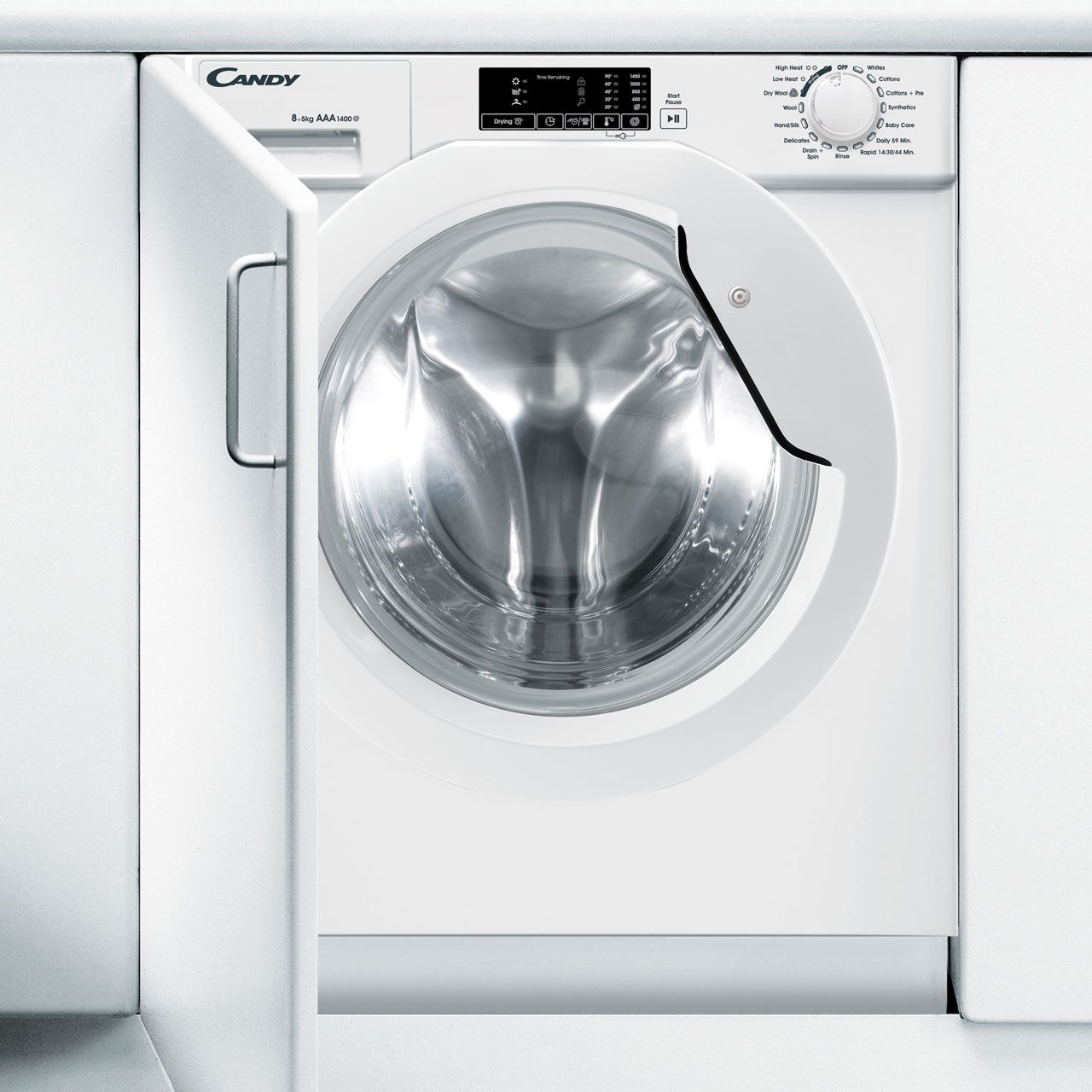 Candy CBWD8514D Integrated 8Kg / 5Kg Washer Dryer review
