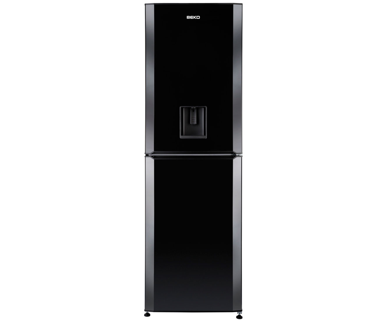 Beko CFD6914APB 50/50 Frost Free Fridge Freezer - Black