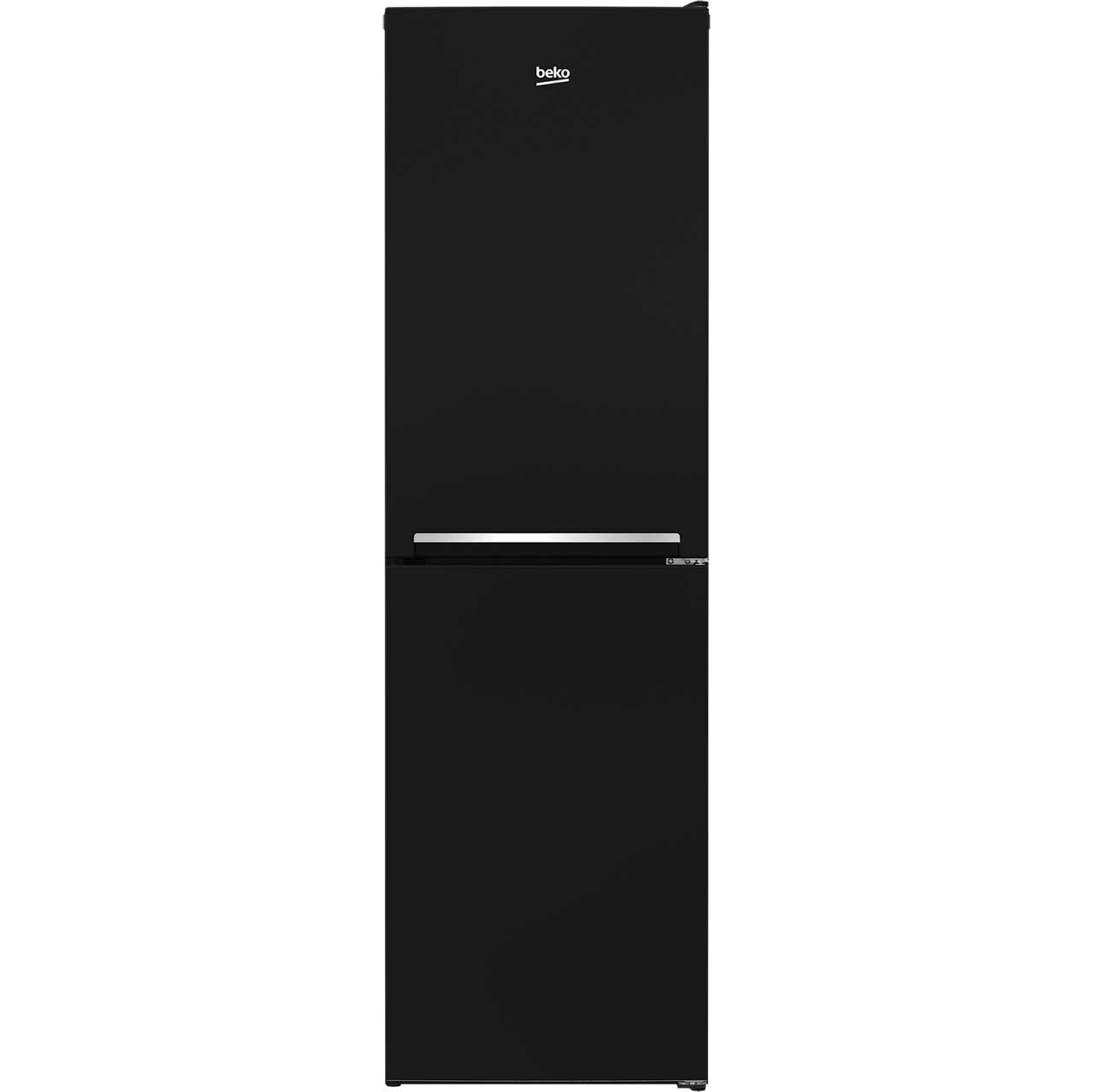 Beko CFG1582B Free Standing Fridge Freezer Frost Free in Black
