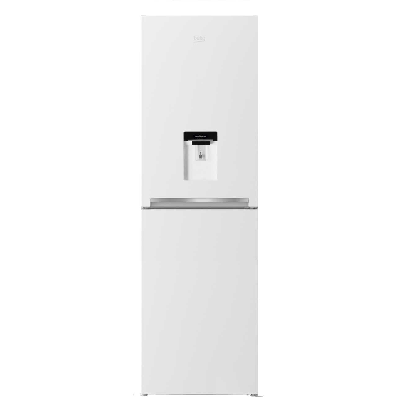 Beko CFG1582DW Free Standing Fridge Freezer Frost Free in White