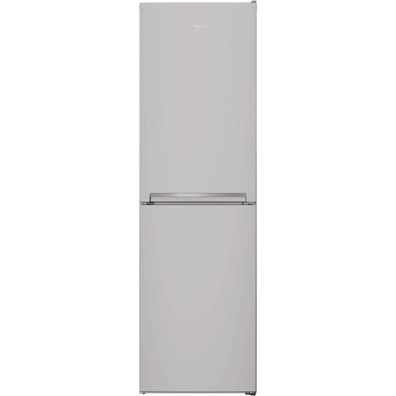 Beko CFG1582S Free Standing Fridge Freezer Frost Free in Silver