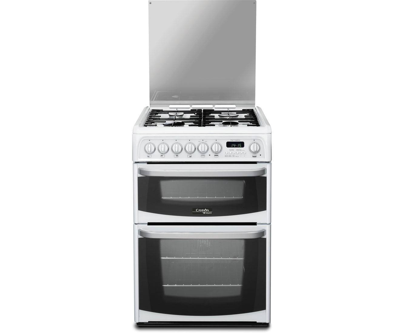 ch60dhwfs wh cannon dual fuel cooker white ao com rh ao com Verona Dual Fuel Double Oven Double Oven Dual Fuel Range