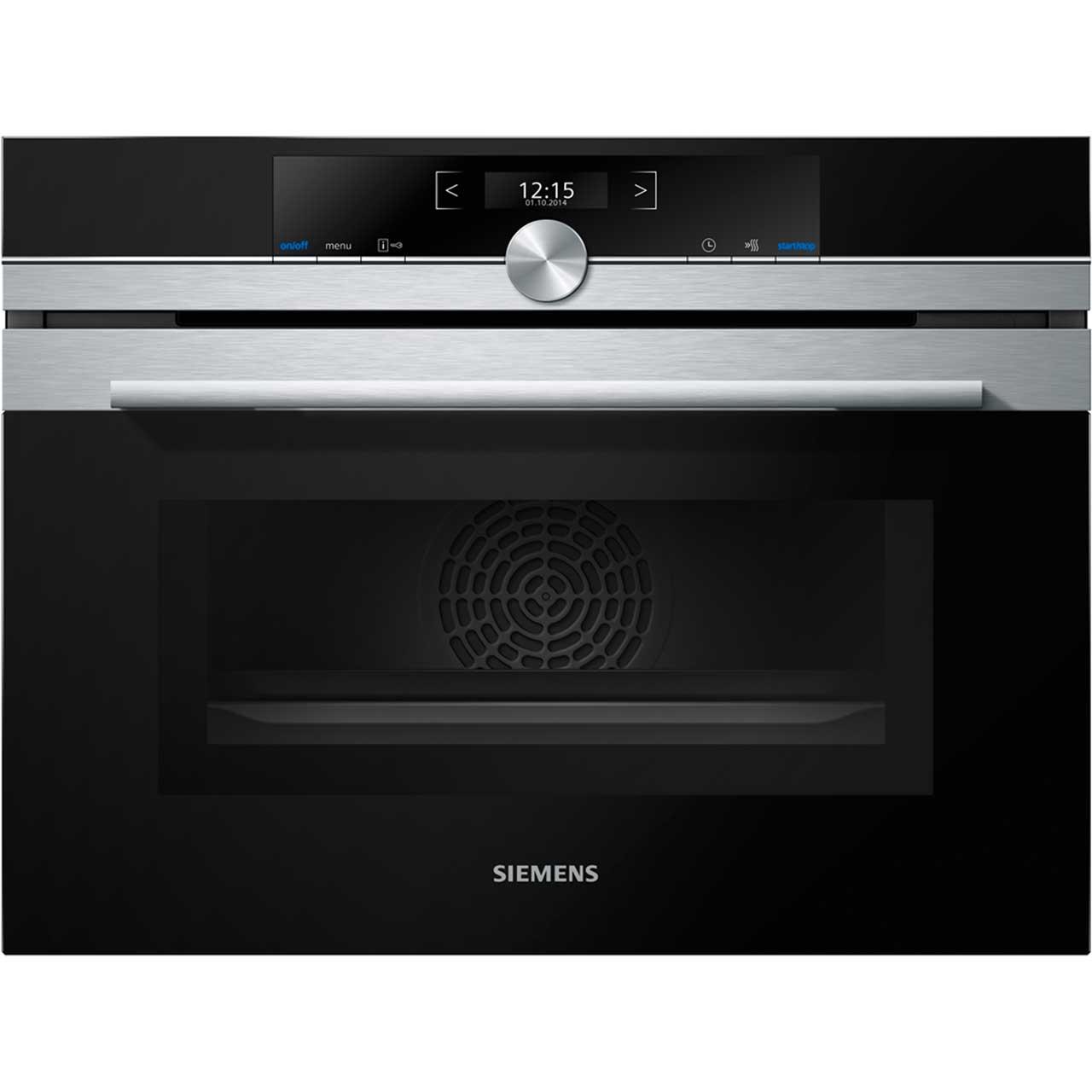 Siemens iq 700 cm633gbs1b built in combination microwave for Siemens iq 700