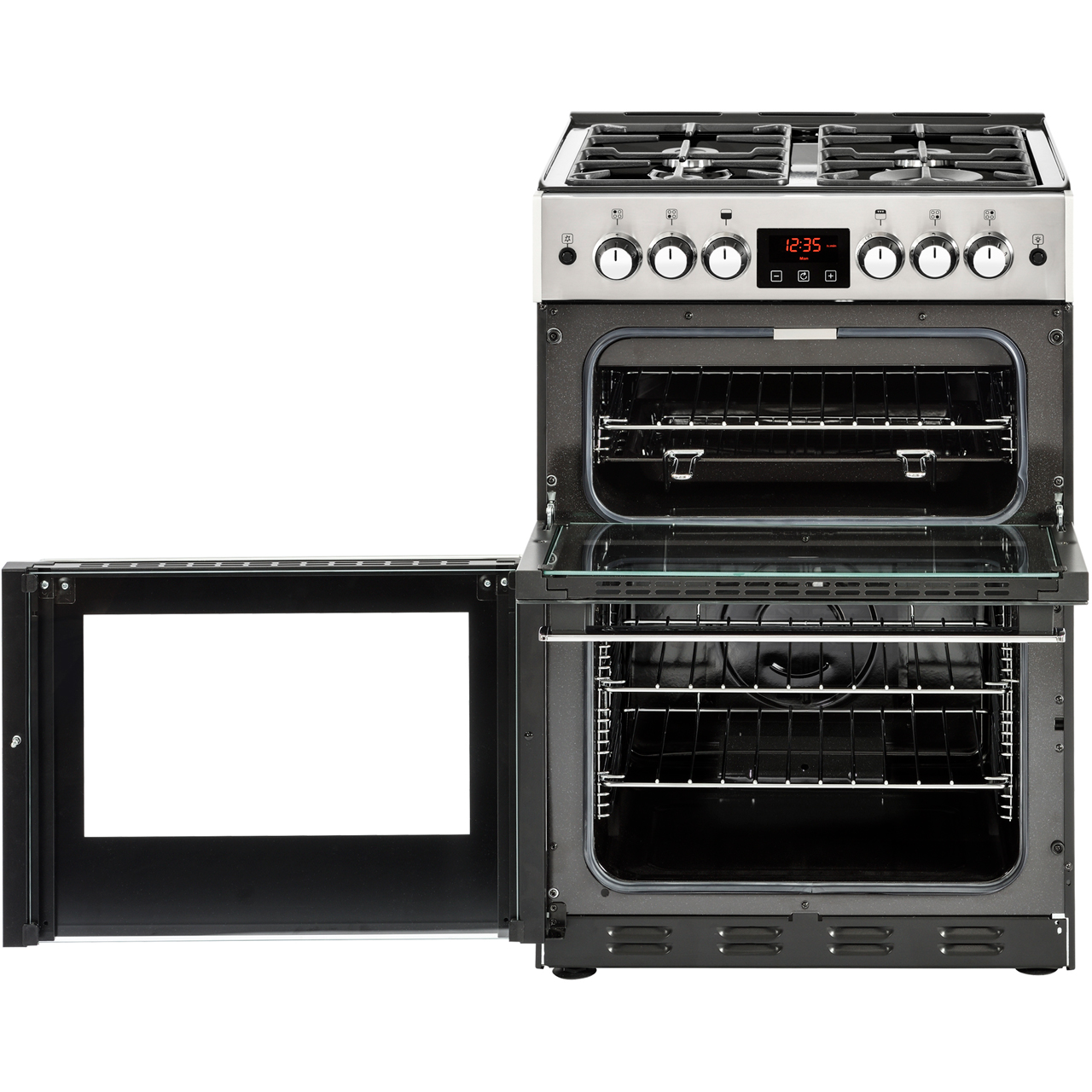 Belling Cookcentre 60G Gas Cooker - Black