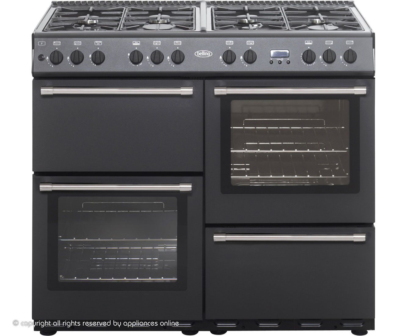 Belling COUNTRYCLASSIC100G 100cm Gas Range Cooker - Anthracite