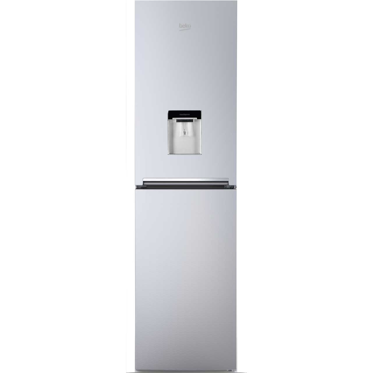 Beko CRFG1582DS Free Standing Fridge Freezer Frost Free in Silver