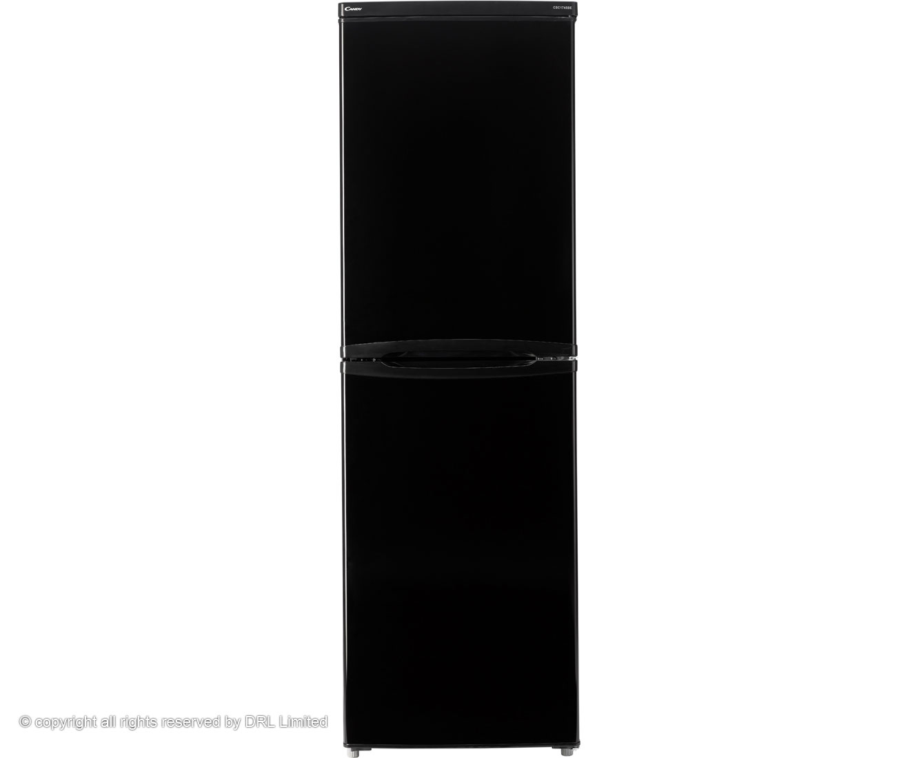 Candy CSC1745BE 50/50 Fridge Freezer - Black