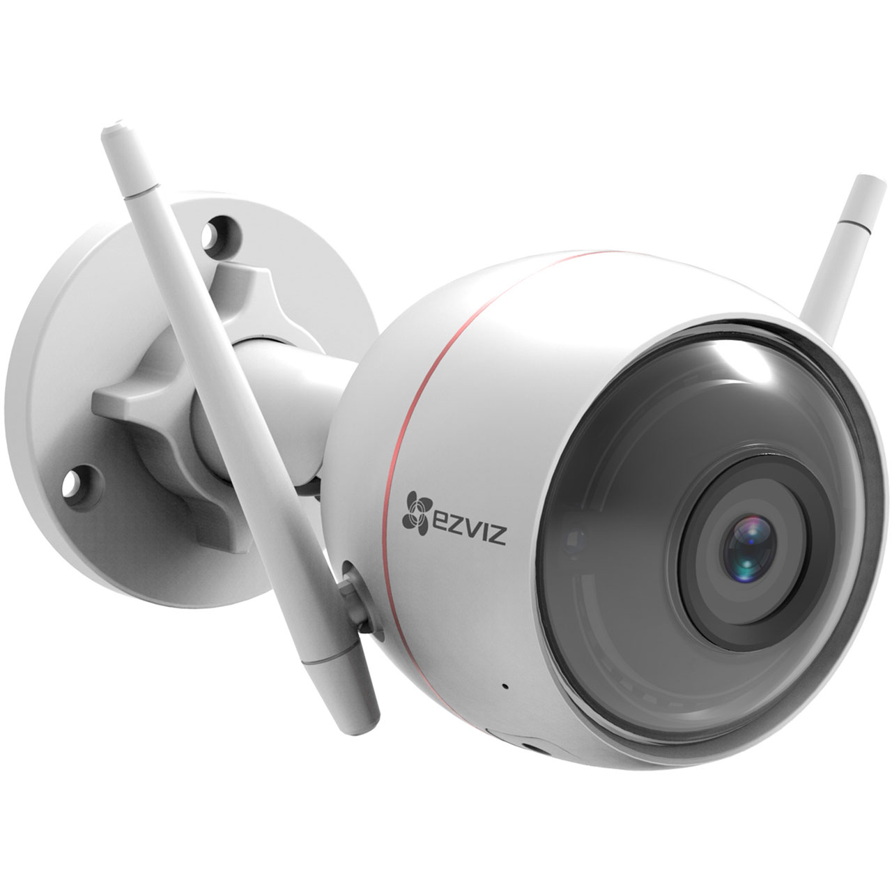 EZVIZ WiFi Smart Home Security Camera with Strobe Light - White